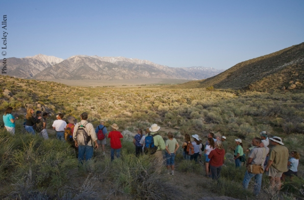 Celebrating Conservation at the Benton Hot Springs Ranch conservation easement in May 2008