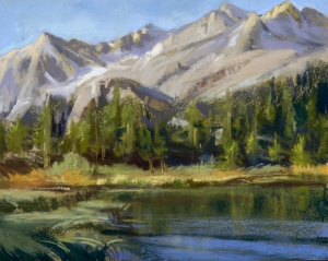 Chris Chapman, Bishop Creek Basin, Pastel