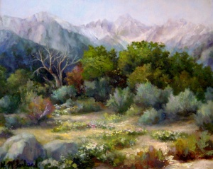 Willellyn McFarland, Sierra Spring, Oil