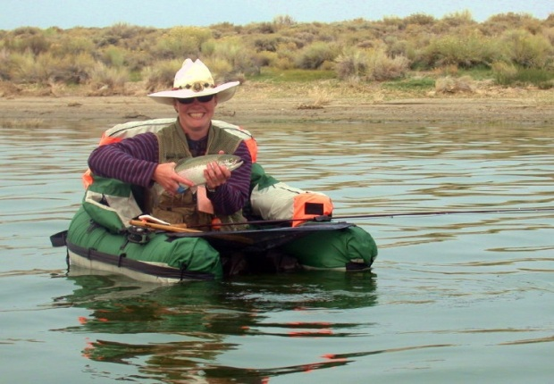 """""""The Eastern Sierra has been important to me and my family since I was a kid. My dad and uncle taught me to flyfish here,"""" Sus comments. """"I'm overjoyed to join the team at ESLT and help make experiences in nature possible for future generations."""""""