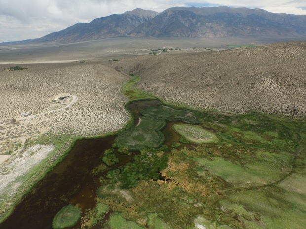 Aerial image of Benton Ponds
