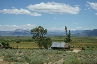 """Standing at Conway Ranch, looking across the vast sweep of the land down to Mono Lake and up to the Sierra, I realized how extraordinary the work of ESLT truly is. Conserving this land was a spectacular achievement, born of months of patient effort."" ~Ruth MacFarlane, ESLT supporter. Photo © Bill Dunlap"