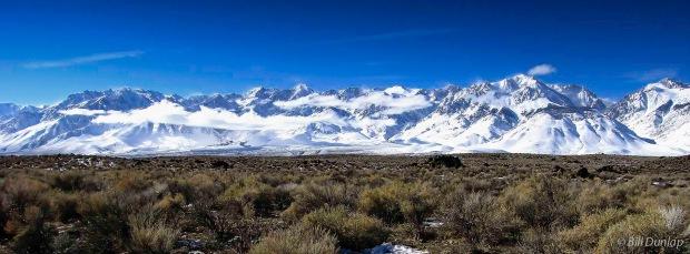 Sierras in winter BD