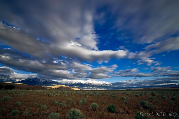 Clouds over Owens Valley