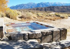 On their property, Bill and his wife Diane also operate The Inn at Benton Hot Springs, where guests can come to get away from the city, soak in the hot springs, admire the impressive views, and take in a bit of local history.